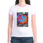 Big Clown (blue) Jr. Ringer T-Shirt