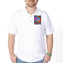 Big Clown (blue) Golf Shirt
