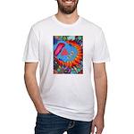 Big Clown (blue) Fitted T-Shirt