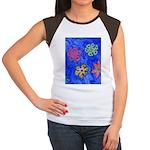 Flakes Women's Cap Sleeve T-Shirt
