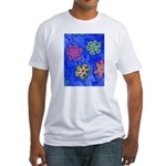 Flakes Fitted T-Shirt