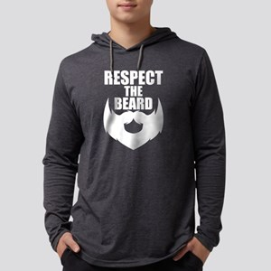 Respect the Beard - Gifts For Long Sleeve T-Shirt