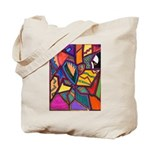 Tie Palm Tote Bag