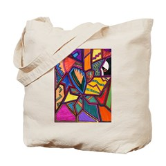 Tie Palm Tote Bag