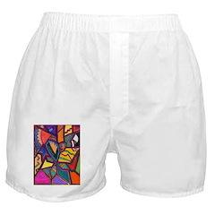 Tie Palm Boxer Shorts
