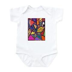 Tie Palm Infant Bodysuit