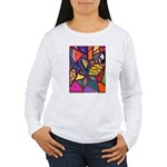 Tie Palm Women's Long Sleeve T-Shirt