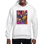 Tie Palm Hooded Sweatshirt