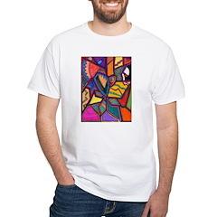Tie Palm White T-Shirt