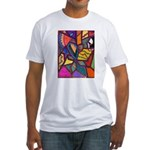 Tie Palm Fitted T-Shirt