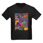 Bee Cow Fish Kids Dark T-Shirt