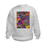 Bee Cow Fish Kids Sweatshirt