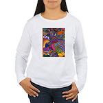 Bee Cow Fish Women's Long Sleeve T-Shirt