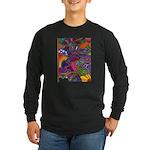 Bee Cow Fish Long Sleeve Dark T-Shirt