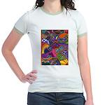 Bee Cow Fish Jr. Ringer T-Shirt