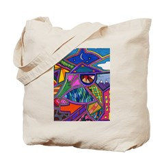 Stary Crown Tote Bag