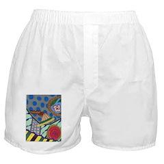 Braided Rug Boxer Shorts