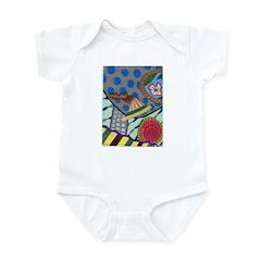 Braided Rug Infant Bodysuit