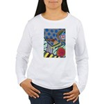 Braided Rug Women's Long Sleeve T-Shirt