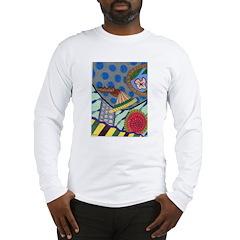 Braided Rug Long Sleeve T-Shirt