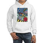 Braided Rug Hooded Sweatshirt