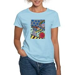 Braided Rug Women's Light T-Shirt