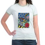Braided Rug Jr. Ringer T-Shirt