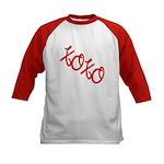 XOXO Kids Baseball Jersey