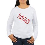 XOXO Women's Long Sleeve T-Shirt