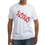 XOXO Fitted T-Shirt