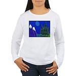 Moon Women's Long Sleeve T-Shirt