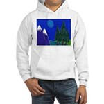 Moon Hooded Sweatshirt
