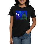Moon Women's Dark T-Shirt