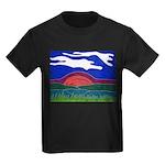 Sunset Kids Dark T-Shirt