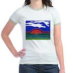 Sunset Jr. Ringer T-Shirt