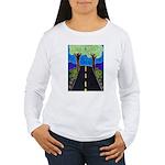 Road Women's Long Sleeve T-Shirt