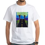 Road White T-Shirt