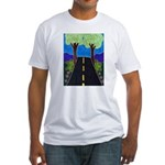 Road Fitted T-Shirt