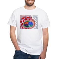 Mountains And Sea White T-Shirt