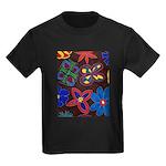 Flowers Kids Dark T-Shirt
