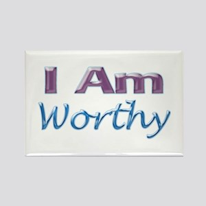 I Am Worthy Rectangle Magnet (10 pack)