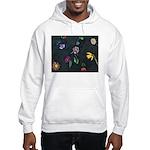 Scattered Flowers Hooded Sweatshirt