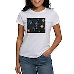 Scattered Flowers Women's T-Shirt