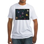 Scattered Flowers Fitted T-Shirt