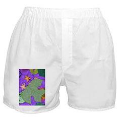 Fallen Leaves (purple) Boxer Shorts