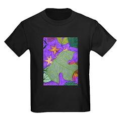 Fallen Leaves (purple) T