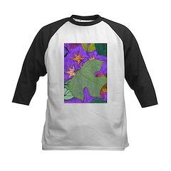 Fallen Leaves (purple) Kids Baseball Jersey