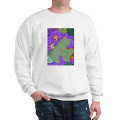 Fallen Leaves (purple) Sweatshirt