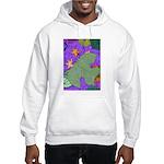 Fallen Leaves (purple) Hooded Sweatshirt