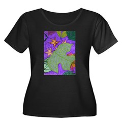 Fallen Leaves (purple) T